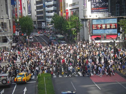 japan crosswalk
